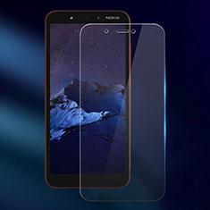 Schutzfolie Displayschutzfolie Panzerfolie Gehärtetes Glas Glasfolie Skins zum Aufkleben Panzerglas für Nokia C1 Klar
