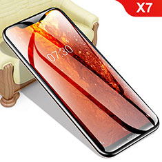 Schutzfolie Displayschutzfolie Panzerfolie Gehärtetes Glas Glasfolie Skins zum Aufkleben Panzerglas für Nokia X7 Klar