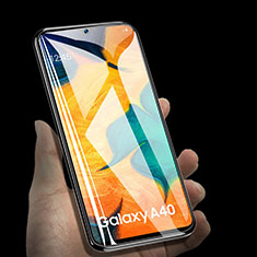 Schutzfolie Displayschutzfolie Panzerfolie Gehärtetes Glas Glasfolie Skins zum Aufkleben Panzerglas für Samsung Galaxy A40 Klar