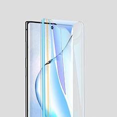 Schutzfolie Displayschutzfolie Panzerfolie Gehärtetes Glas Glasfolie Skins zum Aufkleben Panzerglas für Samsung Galaxy Note 10 Plus Klar