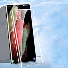 Schutzfolie Displayschutzfolie Panzerfolie Gehärtetes Glas Glasfolie Skins zum Aufkleben Panzerglas für Samsung Galaxy S21 Ultra 5G Klar