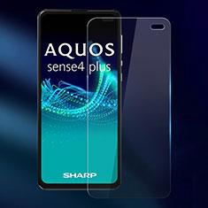 Schutzfolie Displayschutzfolie Panzerfolie Gehärtetes Glas Glasfolie Skins zum Aufkleben Panzerglas für Sharp AQUOS Sense4 Plus Klar