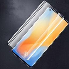 Schutzfolie Displayschutzfolie Panzerfolie Gehärtetes Glas Glasfolie Skins zum Aufkleben Panzerglas für Vivo X50 Pro 5G Klar