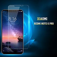 Schutzfolie Displayschutzfolie Panzerfolie Gehärtetes Glas Glasfolie Skins zum Aufkleben Panzerglas für Xiaomi Redmi Note 6 Pro Klar