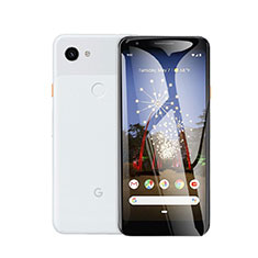 Schutzfolie Displayschutzfolie Panzerfolie Gehärtetes Glas Glasfolie Skins zum Aufkleben Panzerglas T01 für Google Pixel 3a Klar