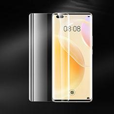 Schutzfolie Displayschutzfolie Panzerfolie Gehärtetes Glas Glasfolie Skins zum Aufkleben Panzerglas T01 für Huawei Nova 8 Pro 5G Klar