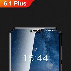 Schutzfolie Displayschutzfolie Panzerfolie Gehärtetes Glas Glasfolie Skins zum Aufkleben Panzerglas T01 für Nokia 6.1 Plus Klar