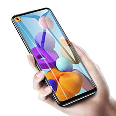 Schutzfolie Displayschutzfolie Panzerfolie Gehärtetes Glas Glasfolie Skins zum Aufkleben Panzerglas T01 für Samsung Galaxy A21 Klar