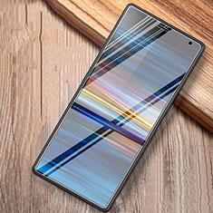 Schutzfolie Displayschutzfolie Panzerfolie Gehärtetes Glas Glasfolie Skins zum Aufkleben Panzerglas T02 für Sony Xperia 10 Plus Klar