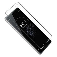 Schutzfolie Displayschutzfolie Panzerfolie Gehärtetes Glas Glasfolie Skins zum Aufkleben Panzerglas T02 für Sony Xperia XZ3 Klar