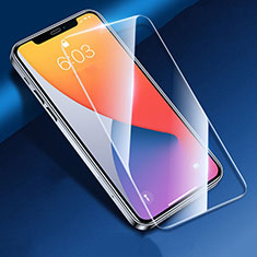 Schutzfolie Displayschutzfolie Panzerfolie Gehärtetes Glas Glasfolie Skins zum Aufkleben Panzerglas T03 für Apple iPhone 12 Klar