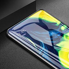 Schutzfolie Displayschutzfolie Panzerfolie Gehärtetes Glas Glasfolie Skins zum Aufkleben Panzerglas T03 für Samsung Galaxy A80 Klar