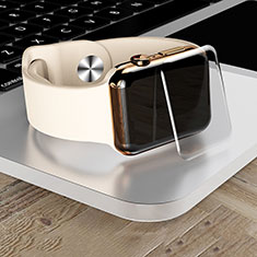 Schutzfolie Displayschutzfolie Panzerfolie Gehärtetes Glas Glasfolie Skins zum Aufkleben Panzerglas T04 für Apple iWatch 4 40mm Klar