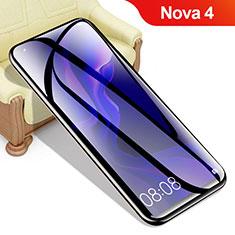 Schutzfolie Displayschutzfolie Panzerfolie Gehärtetes Glas Glasfolie Skins zum Aufkleben Panzerglas T04 für Huawei Nova 4 Klar