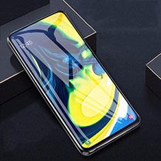 Schutzfolie Displayschutzfolie Panzerfolie Gehärtetes Glas Glasfolie Skins zum Aufkleben Panzerglas T04 für Samsung Galaxy A80 Klar