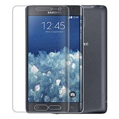 Schutzfolie Displayschutzfolie Panzerfolie Skins zum Aufkleben F01 für Samsung Galaxy Note Edge SM-N915F Klar