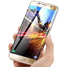 Schutzfolie Displayschutzfolie Panzerfolie Skins zum Aufkleben F01 für Samsung Galaxy S7 Edge G935F Klar