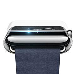 Schutzfolie Displayschutzfolie Panzerfolie Skins zum Aufkleben F02 für Apple iWatch 38mm Klar