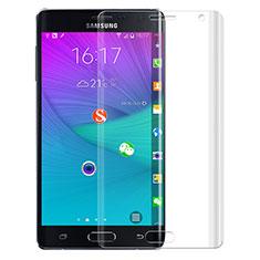 Schutzfolie Displayschutzfolie Panzerfolie Skins zum Aufkleben F02 für Samsung Galaxy Note Edge SM-N915F Klar