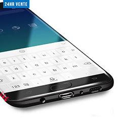 Schutzfolie Displayschutzfolie Panzerfolie Skins zum Aufkleben F02 für Samsung Galaxy S7 Edge G935F Klar