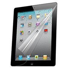 Schutzfolie Displayschutzfolie Panzerfolie Skins zum Aufkleben für Apple iPad 4 Klar