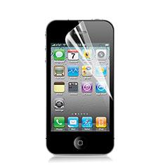 Schutzfolie Displayschutzfolie Panzerfolie Skins zum Aufkleben für Apple iPhone 4 Klar