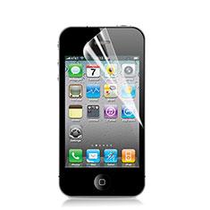 Schutzfolie Displayschutzfolie Panzerfolie Skins zum Aufkleben für Apple iPhone 4S Klar
