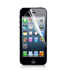 Schutzfolie Displayschutzfolie Panzerfolie Skins zum Aufkleben für Apple iPhone 5S Klar