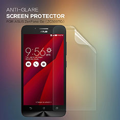 Schutzfolie Displayschutzfolie Panzerfolie Skins zum Aufkleben für Asus Zenfone Go ZC500TG Klar