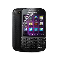 Schutzfolie Displayschutzfolie Panzerfolie Skins zum Aufkleben für Blackberry Q10 Klar