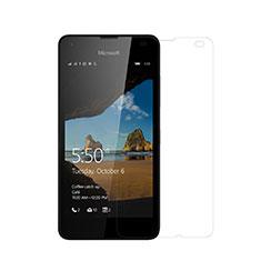 Schutzfolie Displayschutzfolie Panzerfolie Skins zum Aufkleben für Microsoft Lumia 550 Klar