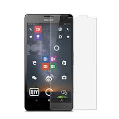 Schutzfolie Displayschutzfolie Panzerfolie Skins zum Aufkleben für Microsoft Lumia 950 XL Klar