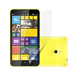 Schutzfolie Displayschutzfolie Panzerfolie Skins zum Aufkleben für Nokia Lumia 1320 Klar