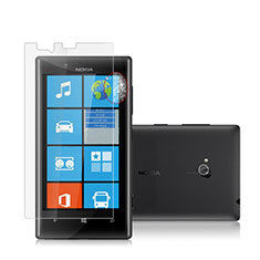 Schutzfolie Displayschutzfolie Panzerfolie Skins zum Aufkleben für Nokia Lumia 720 Klar