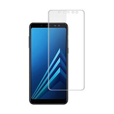 Schutzfolie Displayschutzfolie Panzerfolie Skins zum Aufkleben für Samsung Galaxy A8+ A8 Plus (2018) Duos A730F Klar