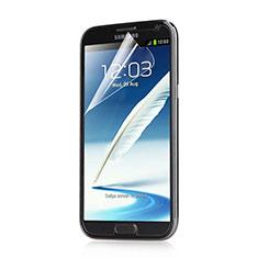 Schutzfolie Displayschutzfolie Panzerfolie Skins zum Aufkleben für Samsung Galaxy Note 2 N7100 N7105 Klar