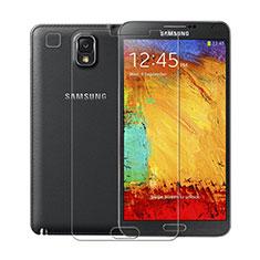 Schutzfolie Displayschutzfolie Panzerfolie Skins zum Aufkleben für Samsung Galaxy Note 3 N9000 Klar