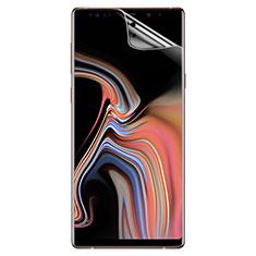 Schutzfolie Displayschutzfolie Panzerfolie Skins zum Aufkleben für Samsung Galaxy Note 9 Klar
