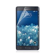 Schutzfolie Displayschutzfolie Panzerfolie Skins zum Aufkleben für Samsung Galaxy Note Edge SM-N915F Klar