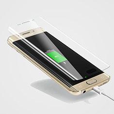 Schutzfolie Displayschutzfolie Panzerfolie Skins zum Aufkleben für Samsung Galaxy S6 Edge+ Plus SM-G928F Klar