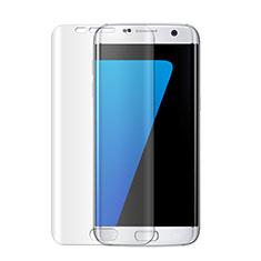 Schutzfolie Displayschutzfolie Panzerfolie Skins zum Aufkleben für Samsung Galaxy S7 Edge G935F Klar
