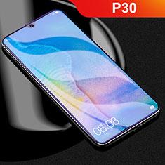 Schutzfolie Displayschutzfolie Panzerfolie Skins zum Aufkleben Full Coverage Anti Blue Ray für Huawei P30 Klar