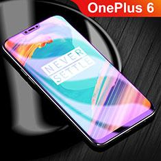 Schutzfolie Displayschutzfolie Panzerfolie Skins zum Aufkleben Full Coverage Anti Blue Ray für OnePlus 6 Klar