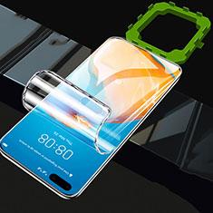 Schutzfolie Displayschutzfolie Panzerfolie Skins zum Aufkleben Full Coverage F01 für Huawei P40 Klar
