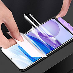 Schutzfolie Displayschutzfolie Panzerfolie Skins zum Aufkleben Full Coverage F01 für Xiaomi Redmi 10X Pro 5G Klar