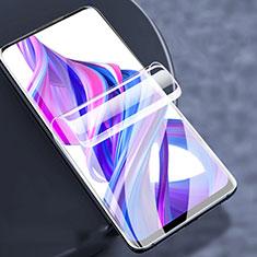 Schutzfolie Displayschutzfolie Panzerfolie Skins zum Aufkleben Full Coverage F02 für Huawei Honor 9X Pro Klar