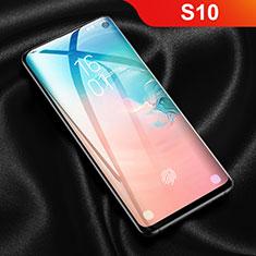 Schutzfolie Displayschutzfolie Panzerfolie Skins zum Aufkleben Full Coverage F03 für Samsung Galaxy S10 5G Klar