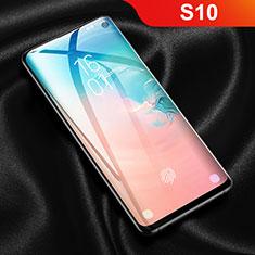 Schutzfolie Displayschutzfolie Panzerfolie Skins zum Aufkleben Full Coverage F03 für Samsung Galaxy S10 Klar
