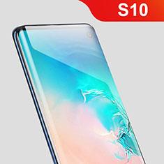 Schutzfolie Displayschutzfolie Panzerfolie Skins zum Aufkleben Full Coverage F05 für Samsung Galaxy S10 5G Klar