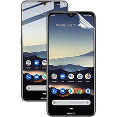 Schutzfolie Displayschutzfolie Panzerfolie Skins zum Aufkleben Full Coverage für Nokia 7.2 Klar